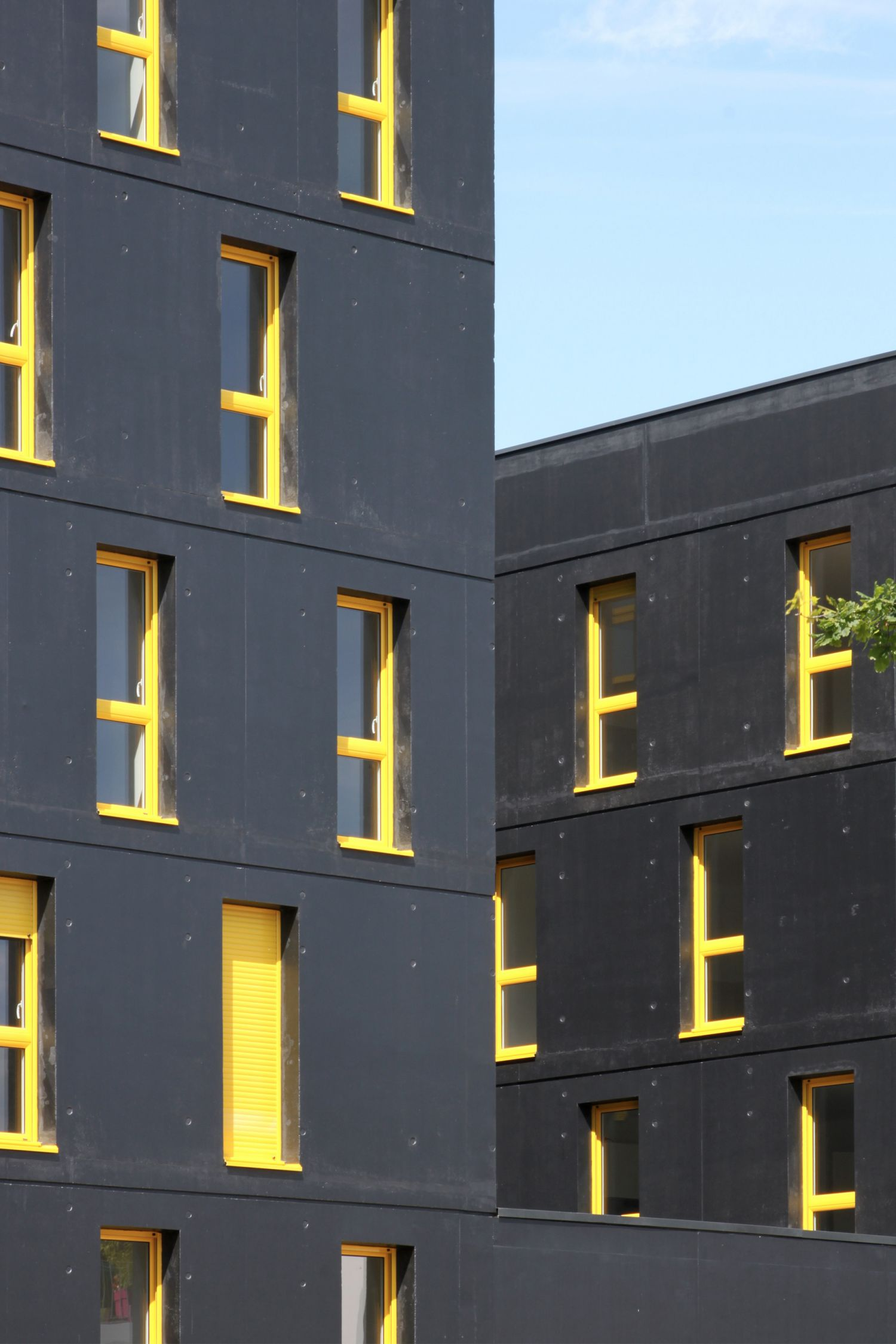 45 logements à Nantes, ZAC Erdre Porterie - Arch. Jacques Boucheton Architectes - Photos © JBA