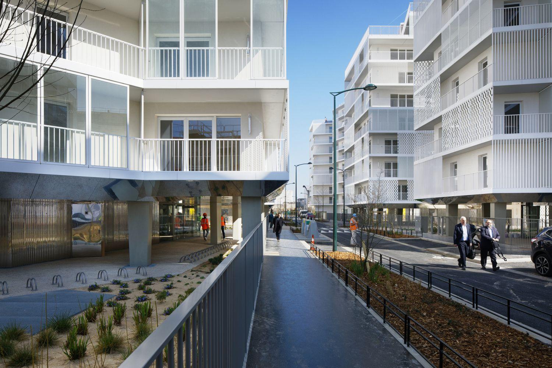Rue Camille Claudel - Arch. Hamonic+Masson & Associés - Photo : Stéphane Aboudaram, Takuji Shimmura, Frederic Achdou