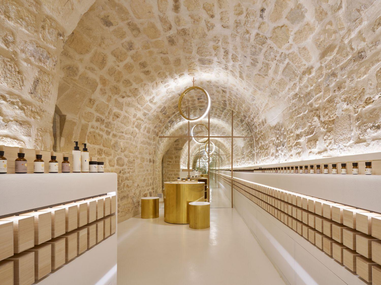 Salon de beauté EN - Arch. ARCHIEE - Photo : David Foessel