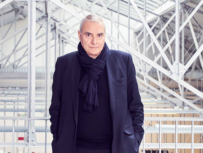 Dominique Perrault, photo © Alexandre Tabaste, Dominique Perrault Architecte, Adagp