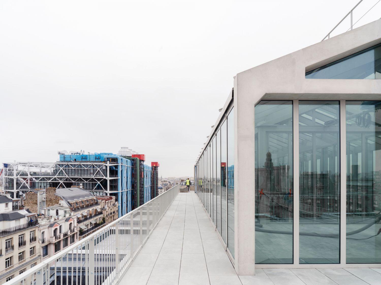 Immeuble de bureaux - Arch. Franklin Azzi Architecture + CALQ © Alexandre Tabaste