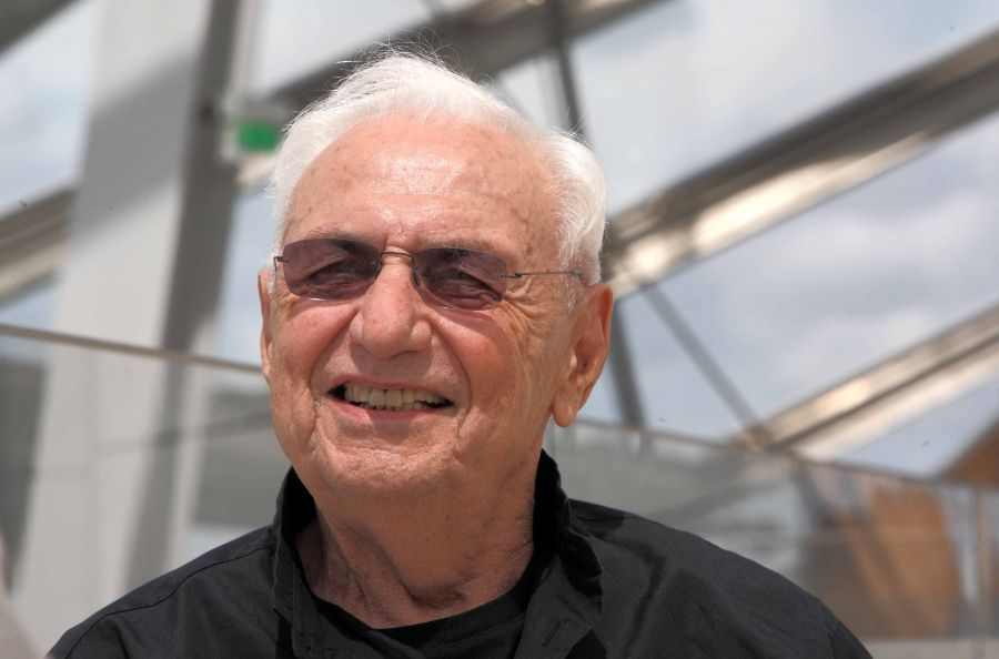 Frank Gehry – Photo : Philippe Migeat, Centre Pompidou