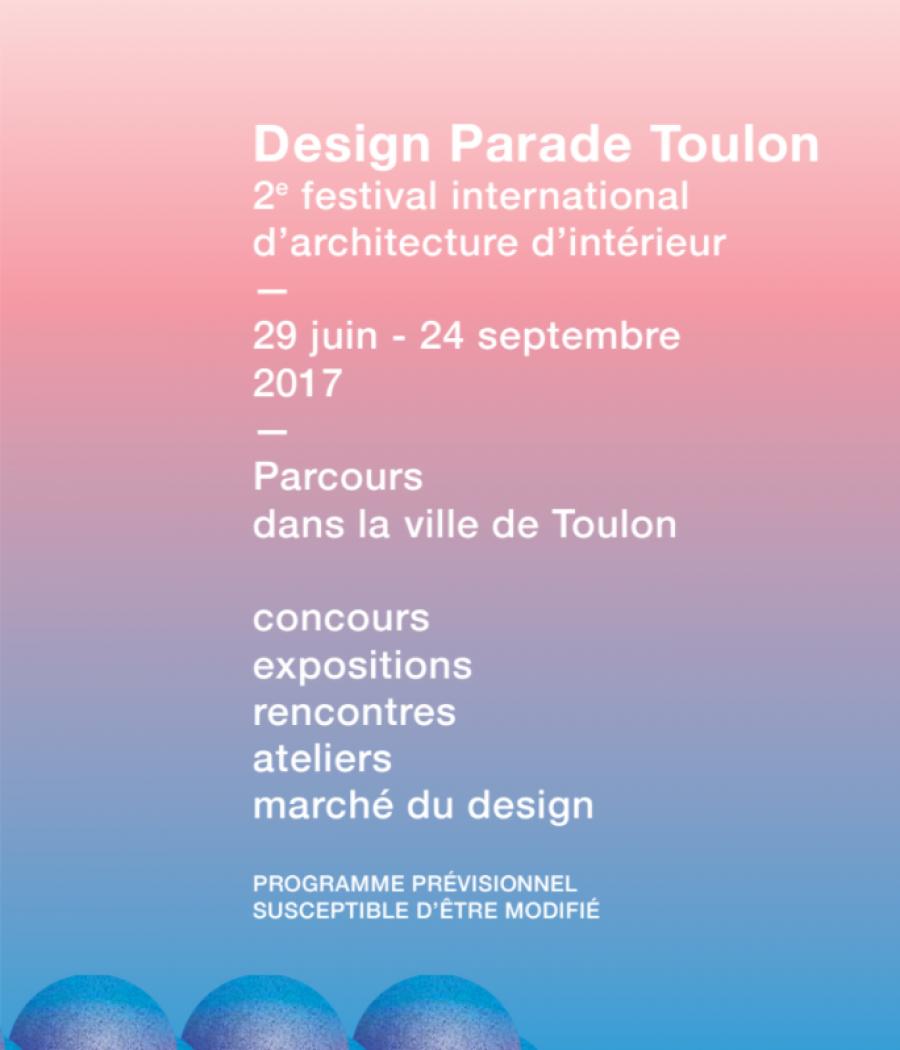 Affiche de Design Parade Toulon 2017 - DR