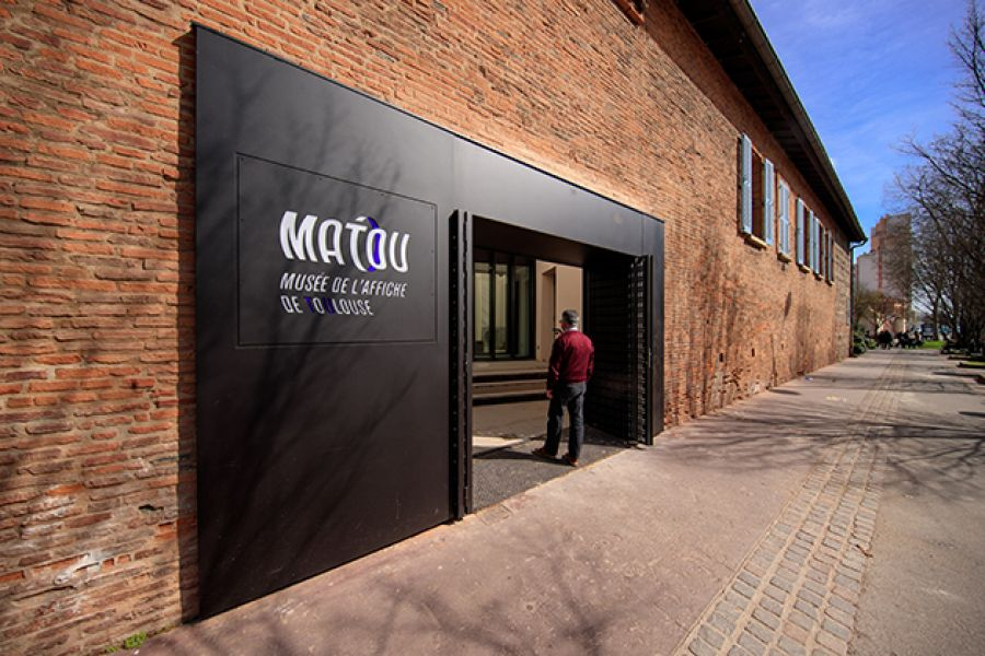 Musée de l'Affiche de Toulouse - Arch. Harter Architecture - Photo : DR via toulouse.fr
