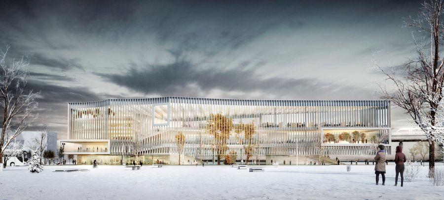 Learning Center Paris-Saclay - Image : Beaudouin Architectes, MGM Arquitectos