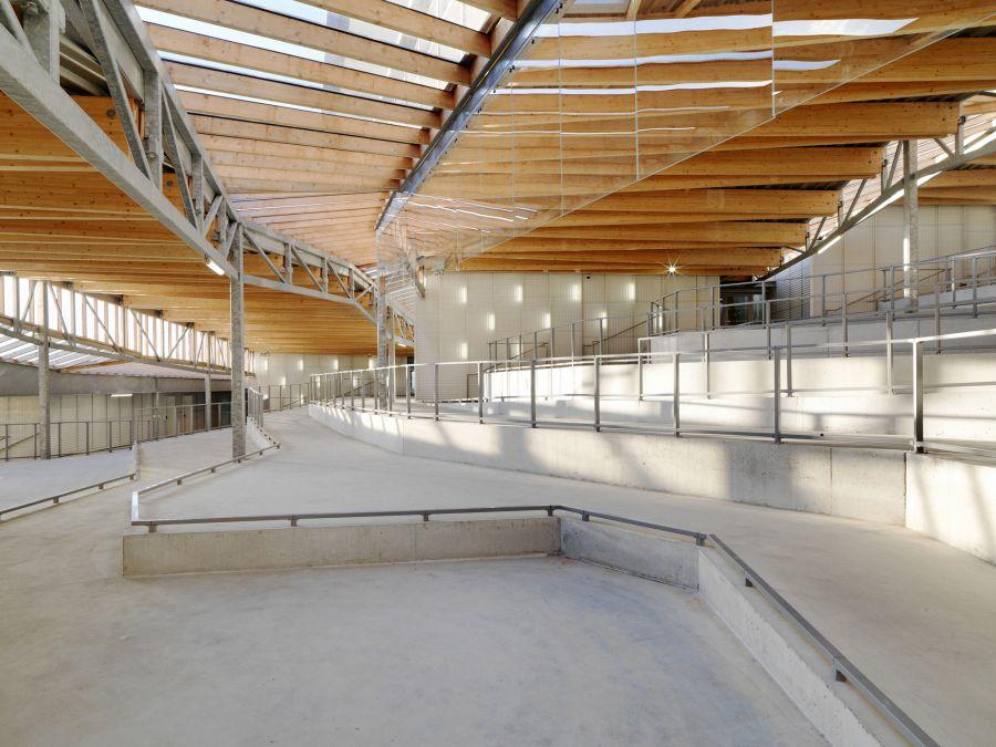 Lycée Jean Moulin - Arch. Duncan Lewis Scape Architecture - Photo : Cyrille Weiner