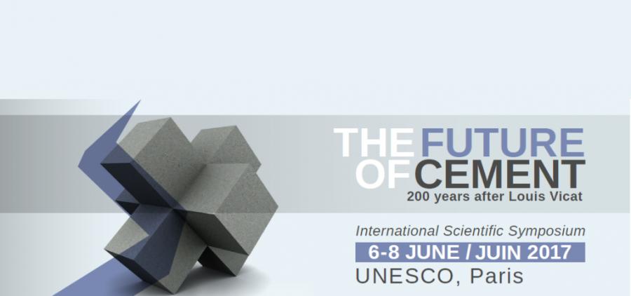 « Le Futur du ciment »,  à l'Unesco du 6 au 8 juin 2017