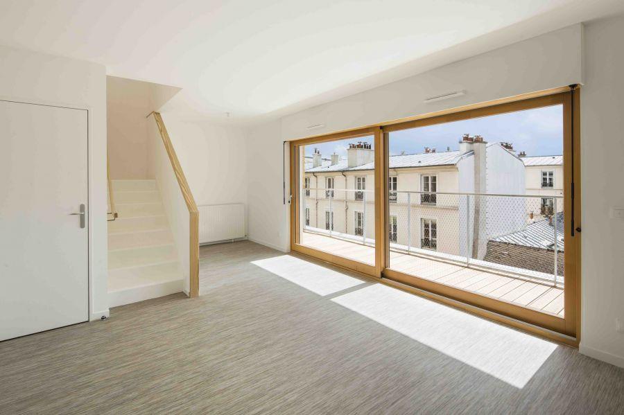 69 logements et un gymnase à Paris - Arch. AAVP - Photos : Luc Boegly