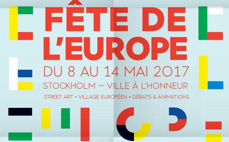 Fête de l'Europe 2017 - Stockholm à l'honneur