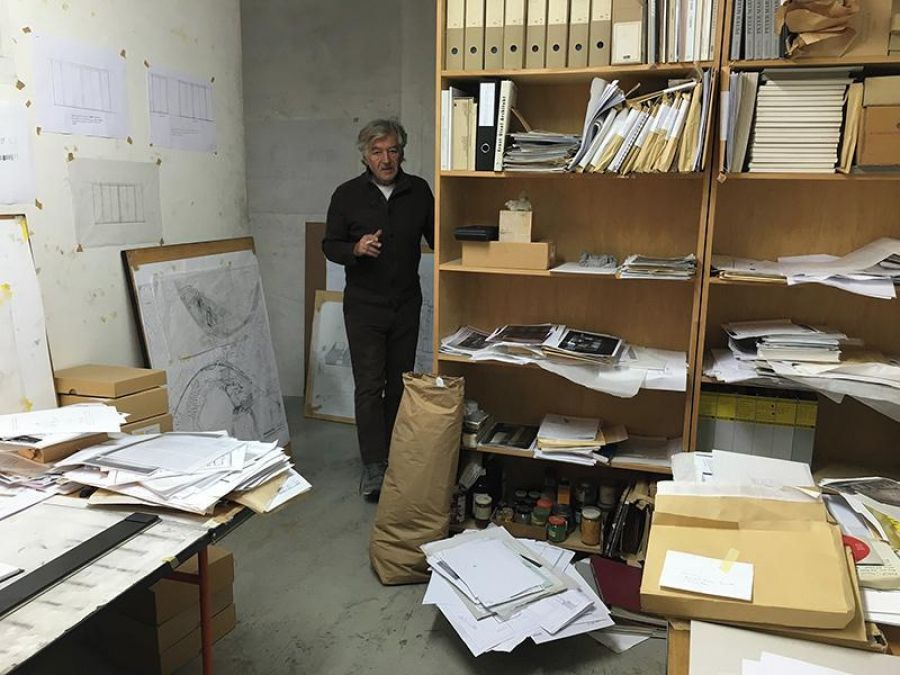 Peter Märkli - DR via centrepompidou.fr