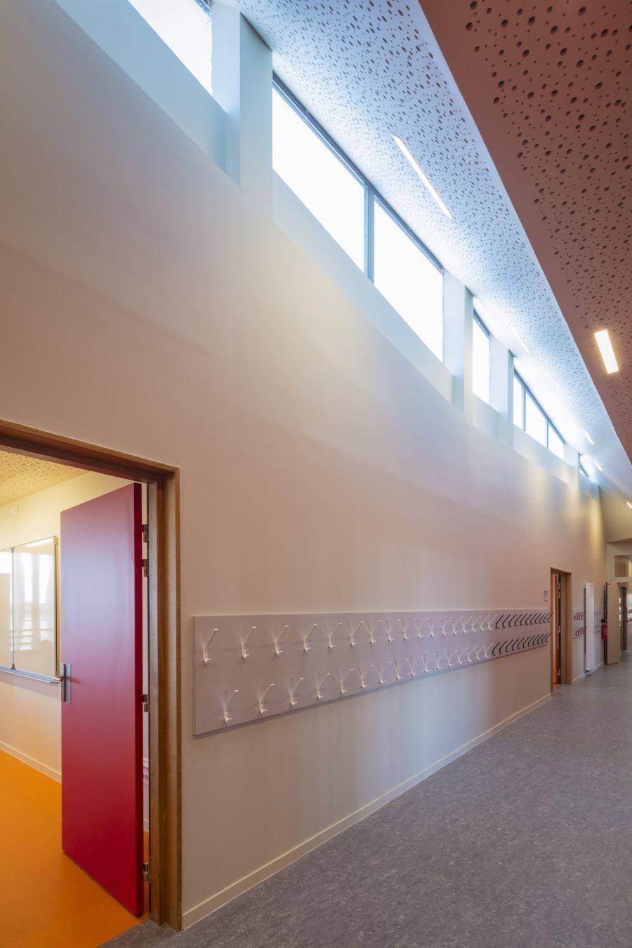 Groupe scolaire Pierre Perret à Serris - Arch. Ameller, Dubois & associés - Photo : Guillaume Guérin