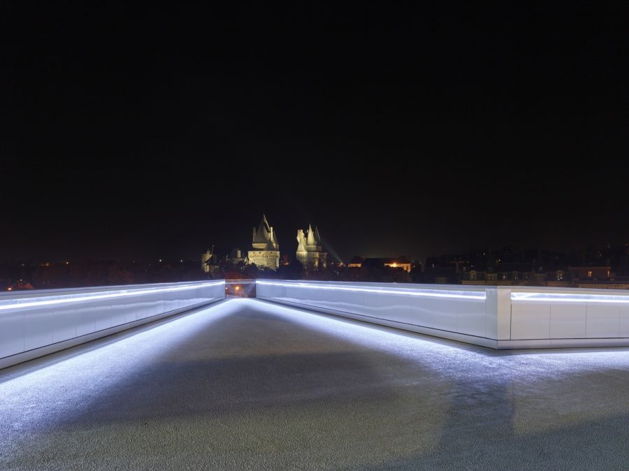 Pôle multimodal de Vitré - Arch. Tetrarc - Photo : Stéphane Chalmeau