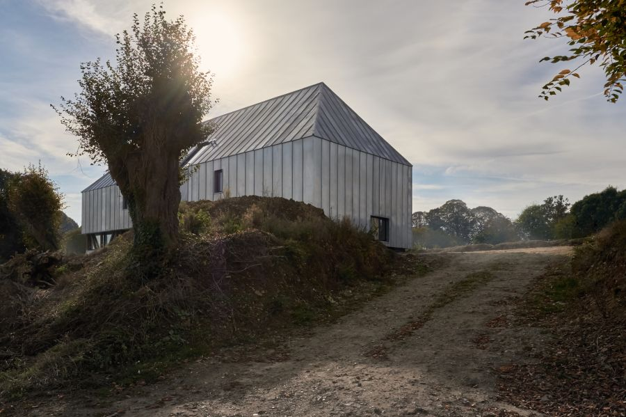 Chemin du calvaire - Arch. Antonin Ziegler - Photos : David Boureau, Antonin Ziegler