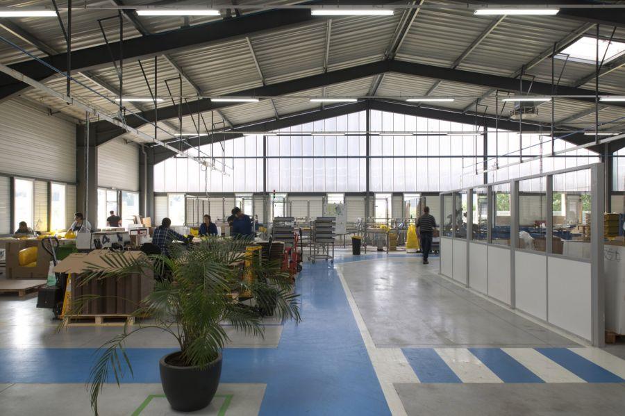 ESAT Henri Robin à Beaurepaire - Arch. Wild Architecture - Photo : Jérôme Ricolleau