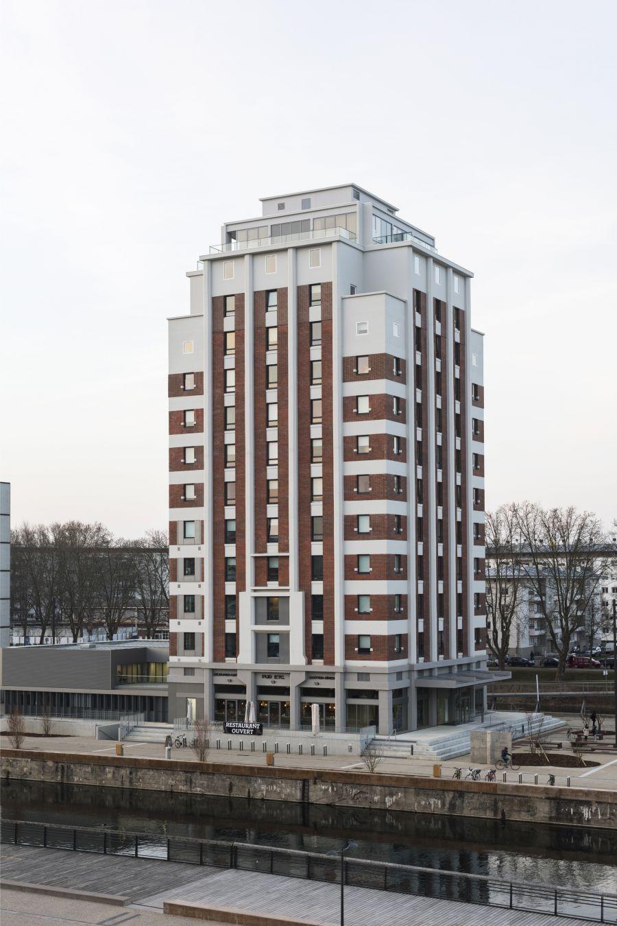 Maison Universitaire Internationale - Arch. Weber Keiling Architectes - Photos : Florian Tiedje