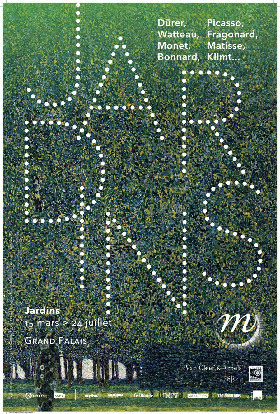 Affiche de l'exposition © Rmn-Grand Palais, Paris 2017