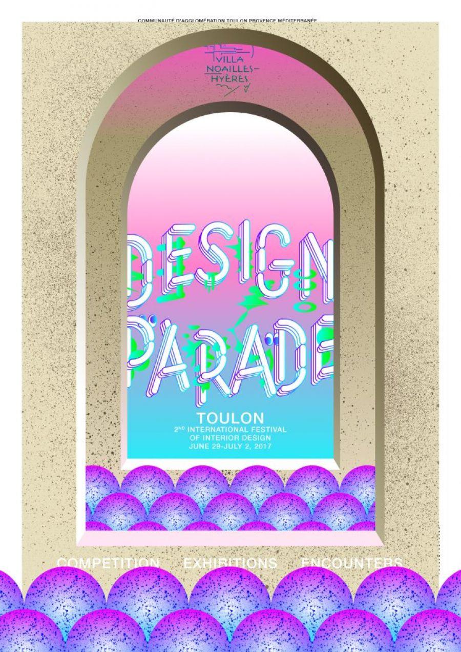 Affiche de l'exposition Designe Parade Toulon - DR
