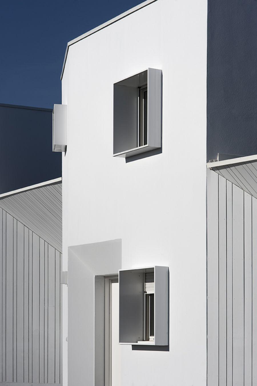 Résidence Jouanicot-Truillet à Anglet - Arch. Leibar & Seigneurin - Photo : Patrick Miara