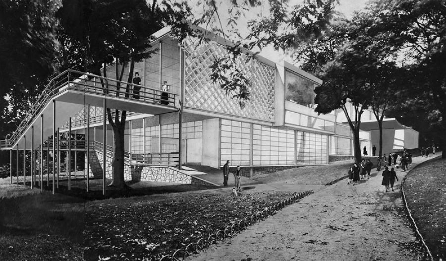 Populaire Construction de l'architecture japonaise à Paris - tema.archi LC74