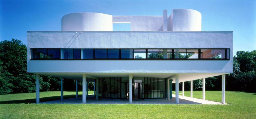 Villa Savoye - Arch. Le Corbusier - Image : © Jean-Christophe Ballot – CMN © FLC | Adagp