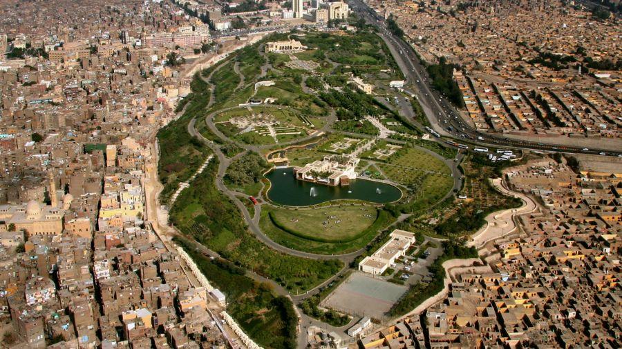 Jardin Al-Azhar au Caire - © Arte