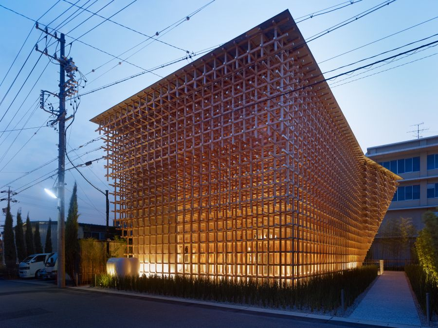 GC Prostho Museum Reasearch Center, Kasugai-shi, Japon - Arch. Kengo Kuma - Photo © Daici Ano