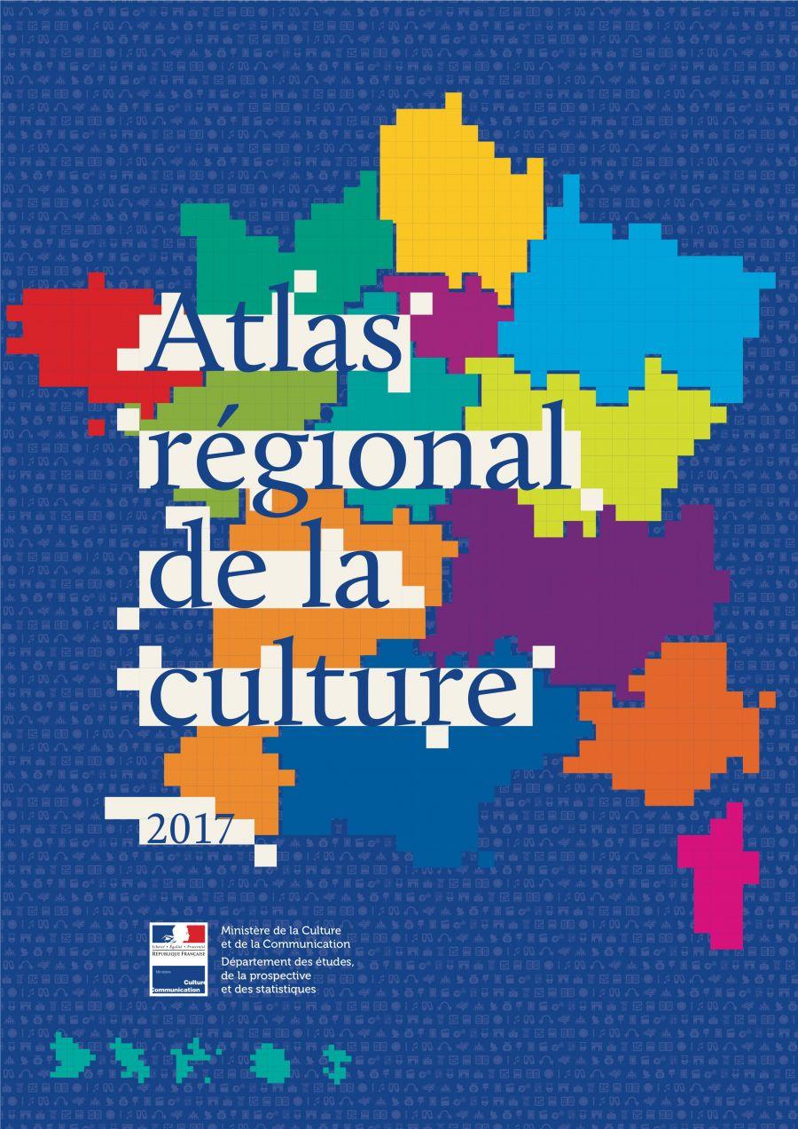 Atlas régional de la culture - © Ministère de la Culture et de la Communication, DEPS, Paris, 2017