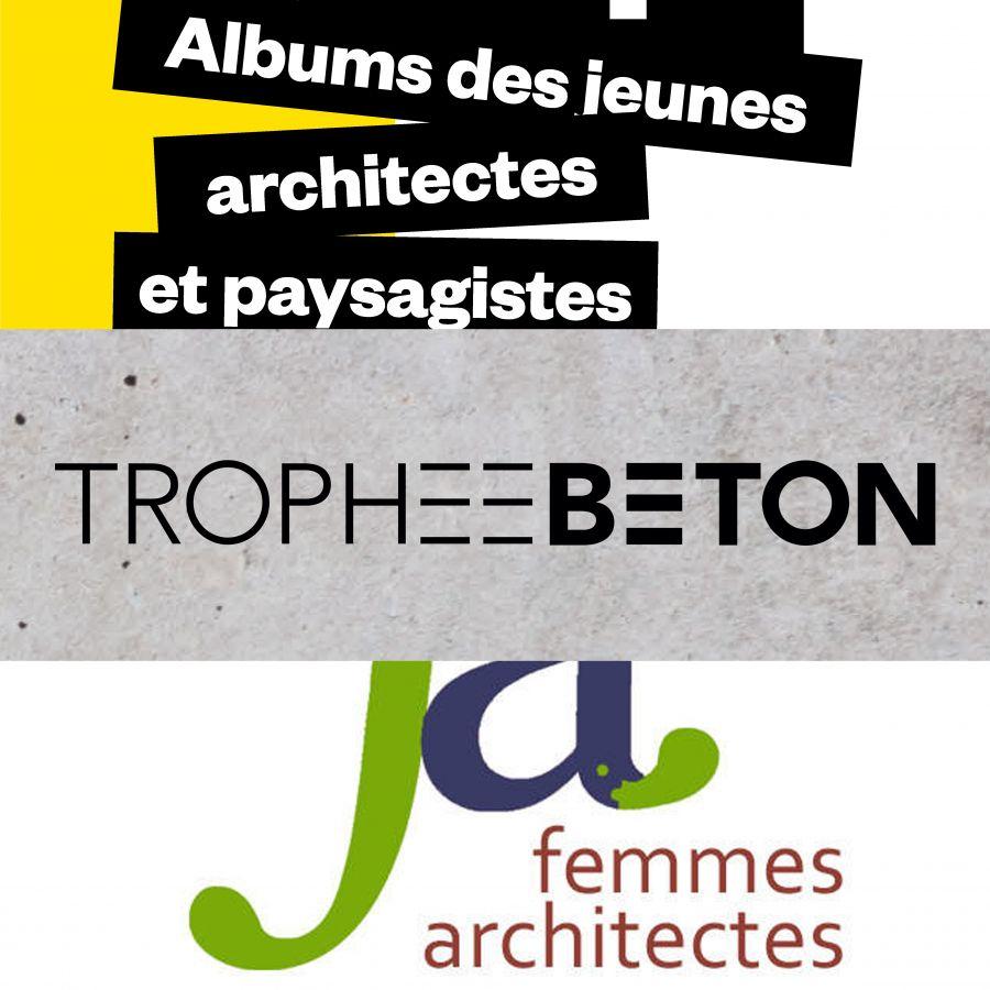 Album des Jeunes Architectes et Paysagistes - Trophée béton école - Prix femme architecte