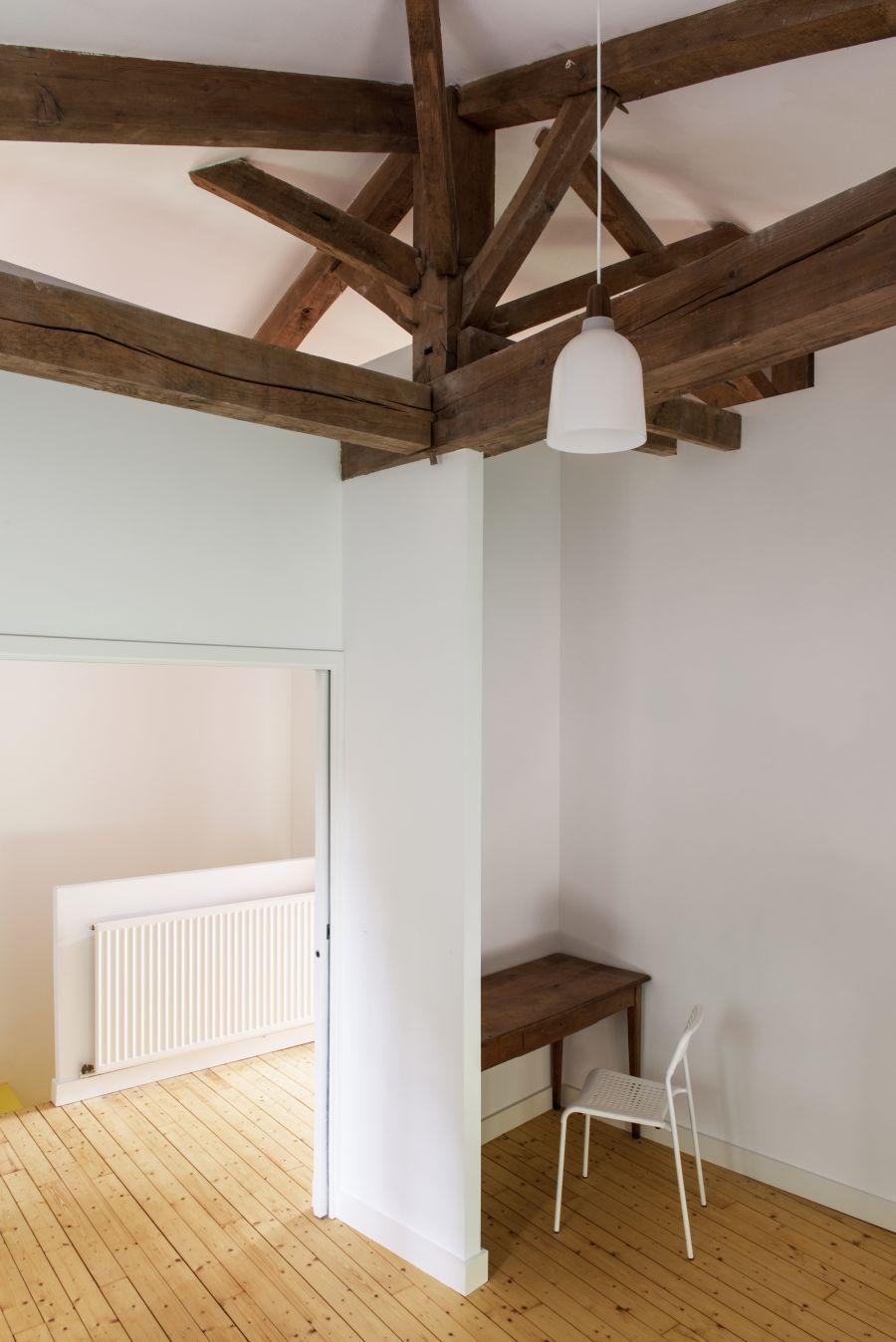 Réhabilitation d'un atelier d'artiste - Arch. Atelier François Berthe, Aude Soulain Architecture - Photo : Germain Herriau