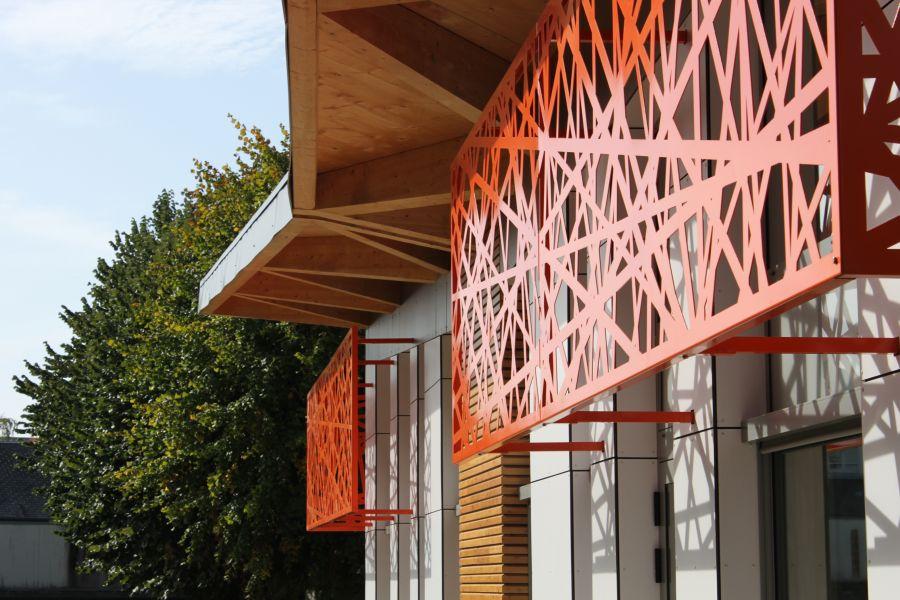 Restaurant du groupe scolaire Maurice Genevoix - Arch. V+C Architecture - Photo : © V+C Architecture