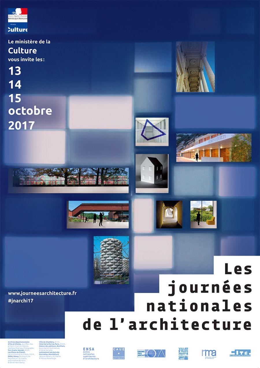 Journées Nationales de l'Architecture - Les 13, 14 et 15 octobre 2017