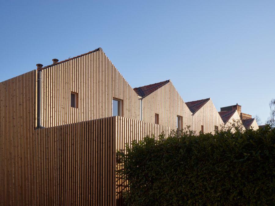 26 logements sociaux à Chalon-sur-Saône - Arch. Odile+Guzy Architectes - Photos : David Foessel