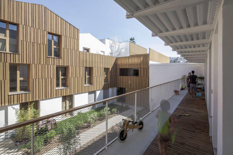 Habitat participatif à Montreuil - Arch. NZI Architectes - Photos : Juan Sepulveda Grazioli