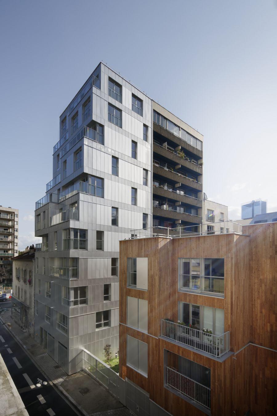 30 logements à Clichy-la-Garenne - Arch. Erik Giudice Architecture - Photo : Camille Gharbi