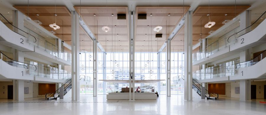 Tribunal de Paris - Arch. Renzo Piano Building Workshop - Photo : Sergio Grazia