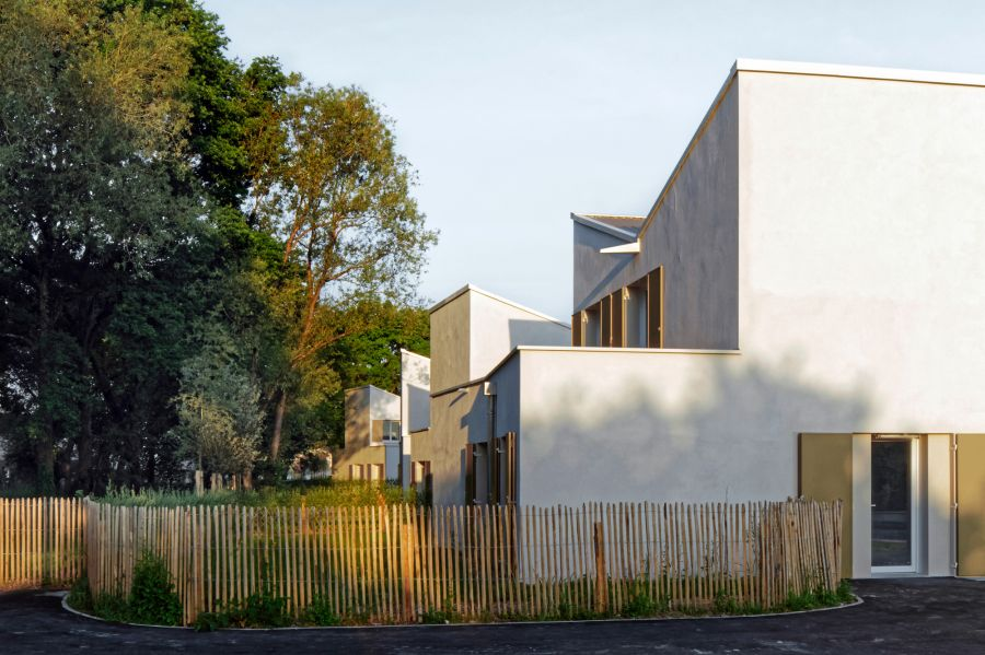Eco-cité La Garenne à Fourchambault - Arch. Guillaume Ramilien Architecture - Photos : Pascal Amoyel