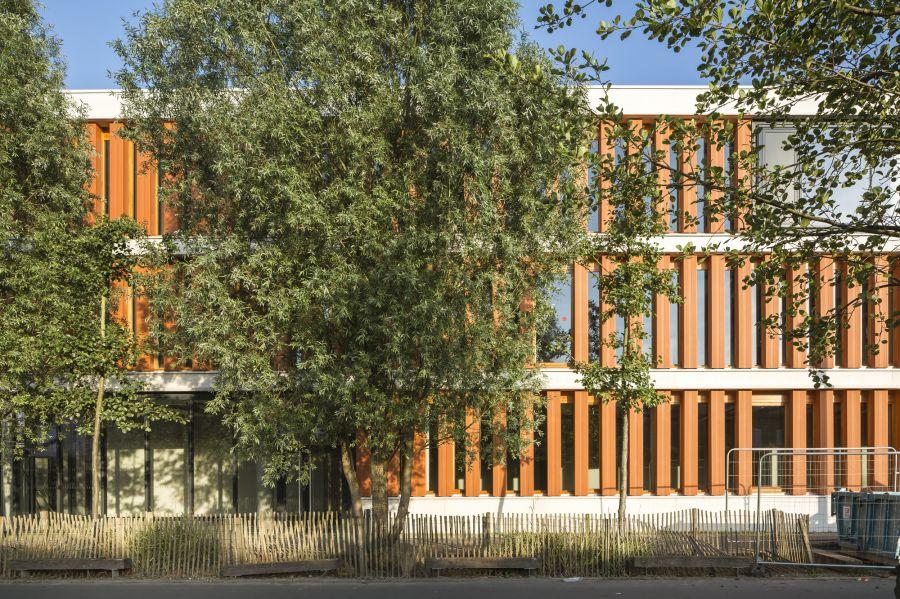 Immeuble de bureaux à Lille - Arch. Atelier Tarabusi - Photos : Sergio Grazia