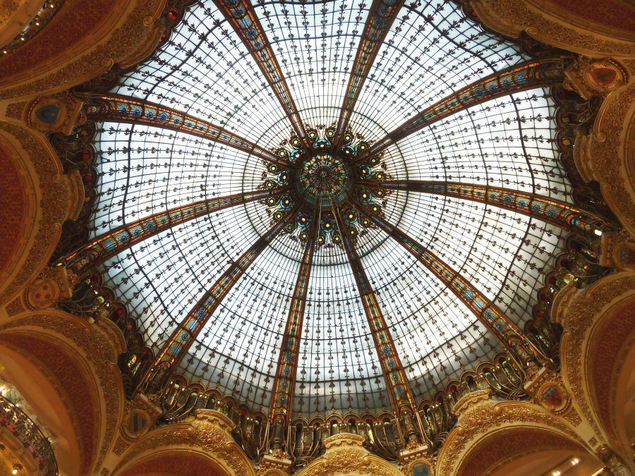 Coupole des Galeries Lafayette à Paris - DR
