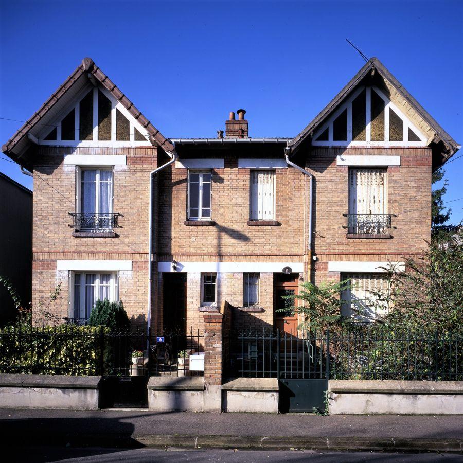 Maisons des établissements Netter, Colombes © Luc Boegly