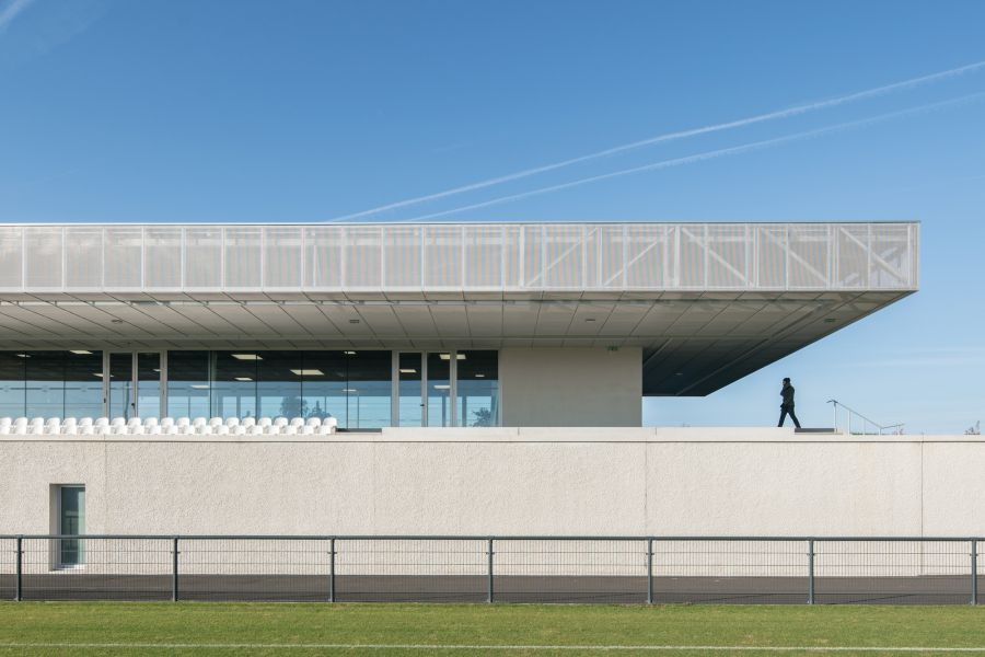 Plaine des Sport - Arch. Olgga Architects, Atelier Cambium - Photo : Stephane Aboudaram / We Are Contents