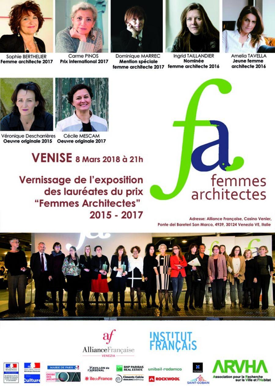 Exposition du Prix des Femmes Architectes - DR : ARVHA