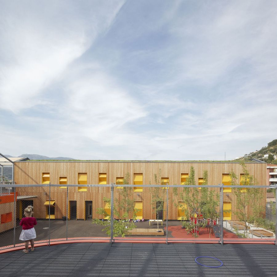 Extension du groupe scolaire Saint-Isidore - Arch : ANMA - Photo : Vincent Fillon