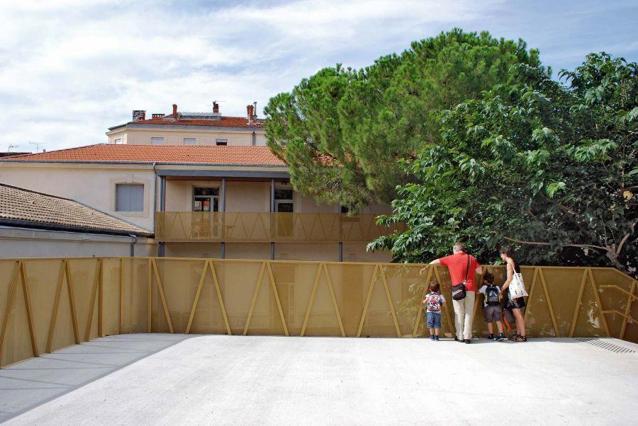 Réhabilitation de l'école Louis Figuier - Arch. NAS architecture - Photo : NAS architecture