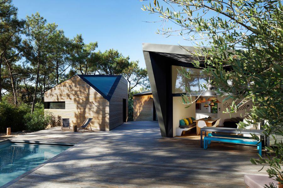 Maison de vacances - Arch. Atelier du Pont - Photo : Philippe Garcia, Takuji Shimmura, Bernard Touillon