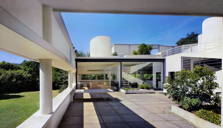 Villa Savoye, Poissy - Arch. Le Corbusier - Photo © CAUE 78