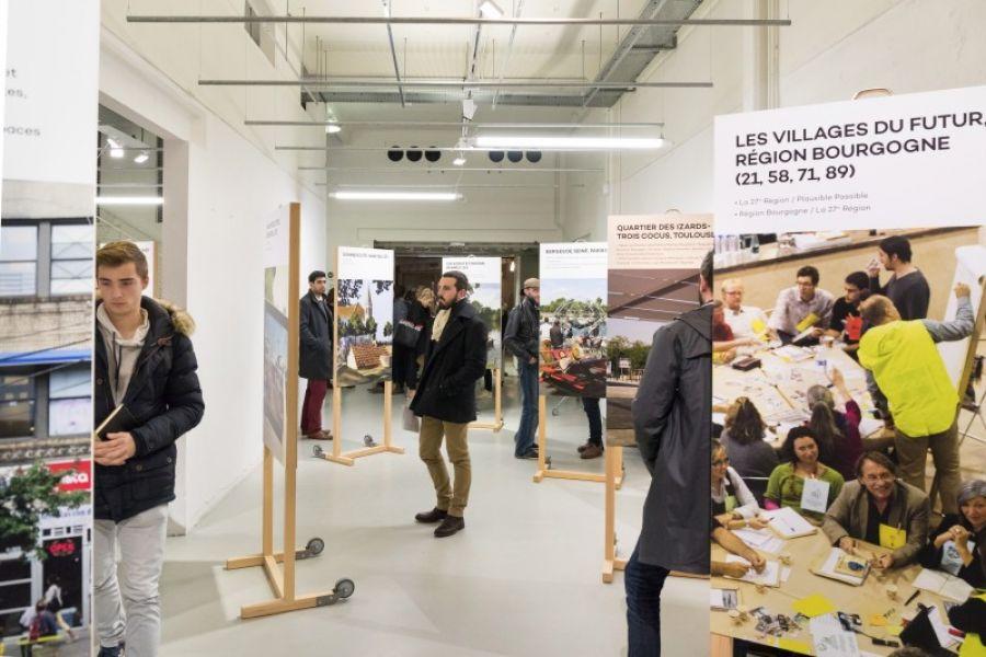 Exposition Co-urbanisme à Bordeaux - Photo : Arthur Péquin - via pavillon-arsenal.com