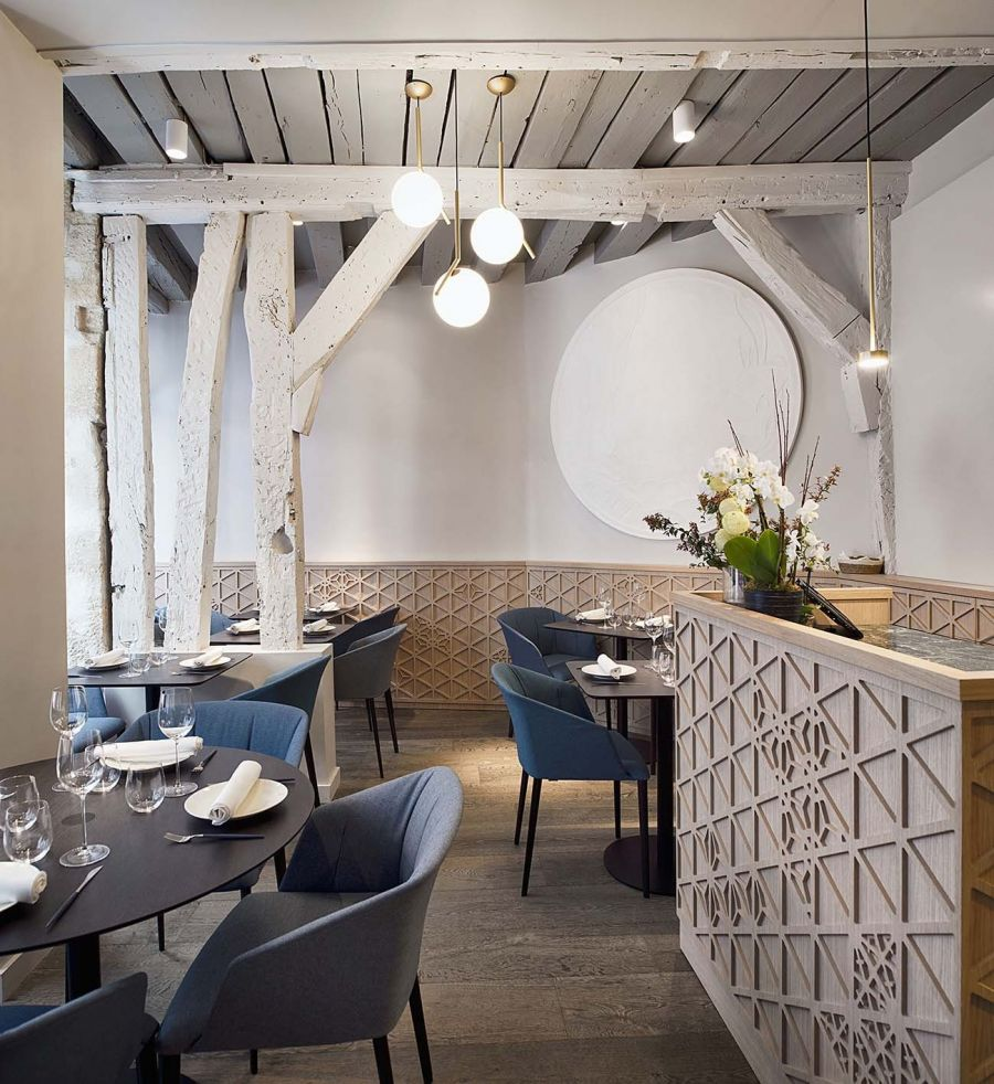 Restaurant Yoshinori - Arch : Alia Bengana, Atelier BEPG - Photo : David Cousin-Marcy