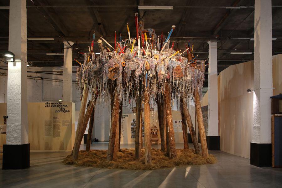 Home Sweet Home, de Pascale Martine Tayou - Exposition Habitarium, à la Condition Publique - Photo : Maxime Dufour