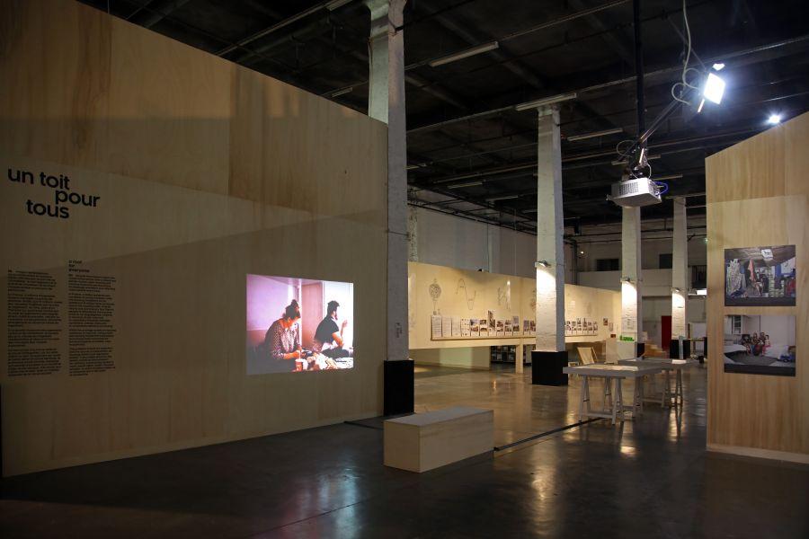 L'Image n'est rien, de Sébastien Godefroy - Exposition Habitarium, à la Condition Publique - Photo : Maxime Dufour