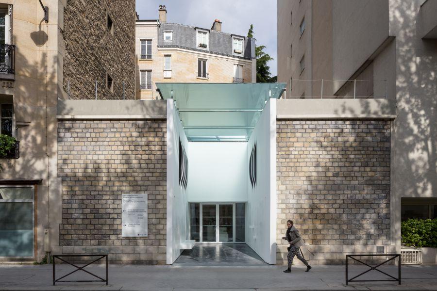 Sortie des catacombes de Paris - Arch. Yoonseux architectes - Photo : Pierre L'Excellent